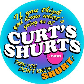 Curts Shurts Sticker by cwly