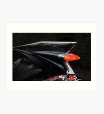1959 Cadillac (Tail Lights) Art Print