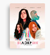 blackpink in your area  Canvas Print