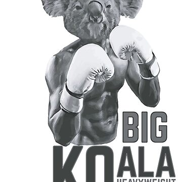 Koala boxing by WAMTEES