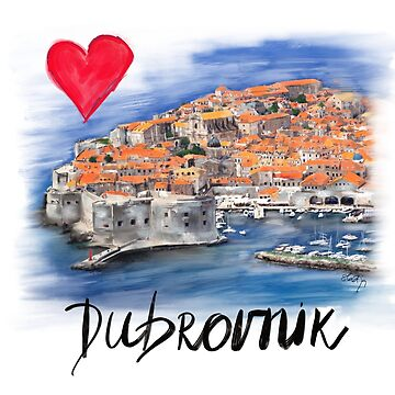 I love Dubrovnik by sladjana