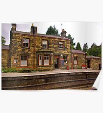 Booking Office - Goathland Station. Poster