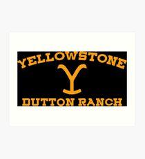 Dutton Ranch Art Print