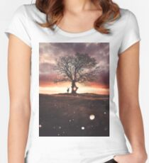 Exoplanet Fitted Scoop T-Shirt
