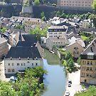 Luxemburg Lower town by Elena Skvortsova