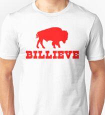 Bills Mafia Shirt - Billieve Shirt - Gift For Buffalo Football Fans Unisex T-Shirt
