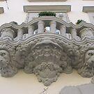 Lion balcony by Elena Skvortsova