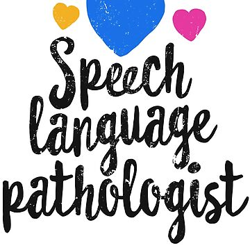 Speech Language Pathologist Shirt Speech Therapist SLP by 14thFloor