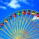 Colorful Ferris Wheel by Cynthia48