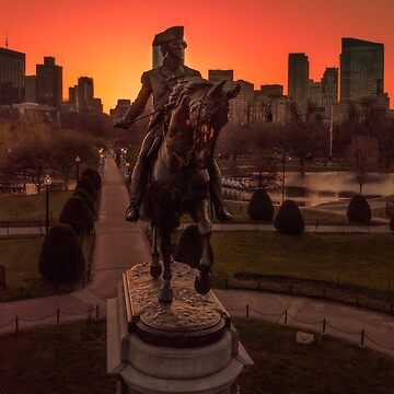 George Washington Monument, Boston by mattmacpherson