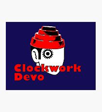 a clockwork devo Photographic Print