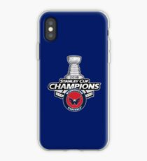 Caps Stanley Cup Champs iPhone Case