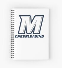 Monmouth University Cheerleading Spiral Notebook