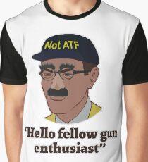 Hello Fellow Gun Enthusiasts Graphic T-Shirt