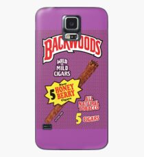 Funda/vinilo para Samsung Galaxy Backwoods Honey Berry Cigar Leafs