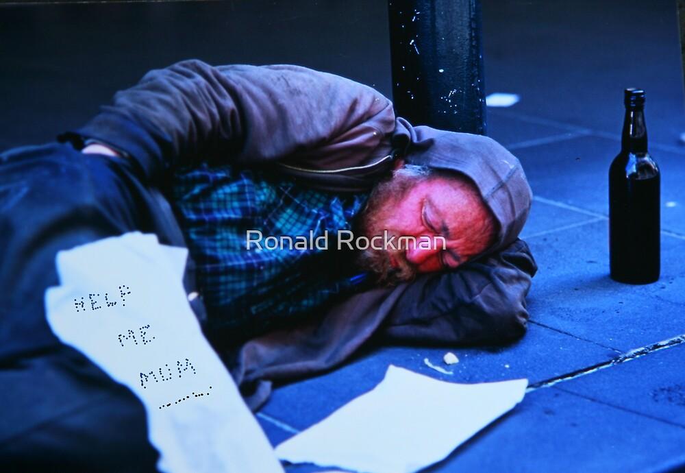 *HOMELESS BLUES* (Help Me Mum) by Ronald Rockman