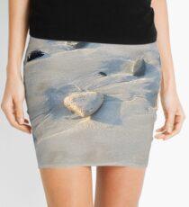 Pebbles on the sand Mini Skirt