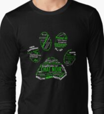 Chat Noir Long Sleeve T-Shirt