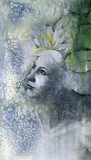 Waterlily by Patricia Ariel