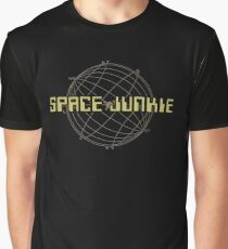 Weltraum-Junkie Grafik T-Shirt
