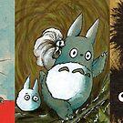 Studio Ghibli Character Mug Style B by DKSartDesign