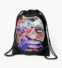 'Give A Man A Mask And He Will Show You His True Face' Drawstring Bag