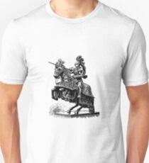 The knight of the tournament Unisex T-Shirt