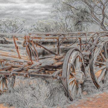 Horse Cart by DVJPhotography