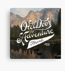 OutDoor Adventure Brand Canvas Print