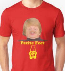 Zierliche Füße Slim Fit T-Shirt