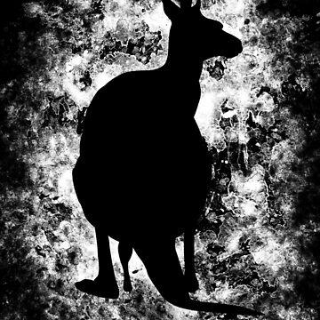 Black Kangaroo by shadowisper