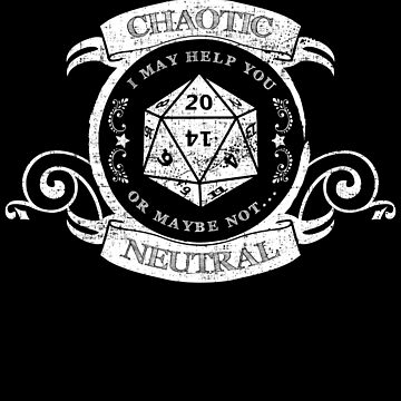 Chaotic neutral RPG Alignment Distressed by shadowisper