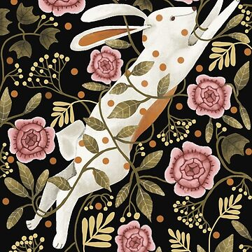 Spring Rabbit (phone case) by lynhurring