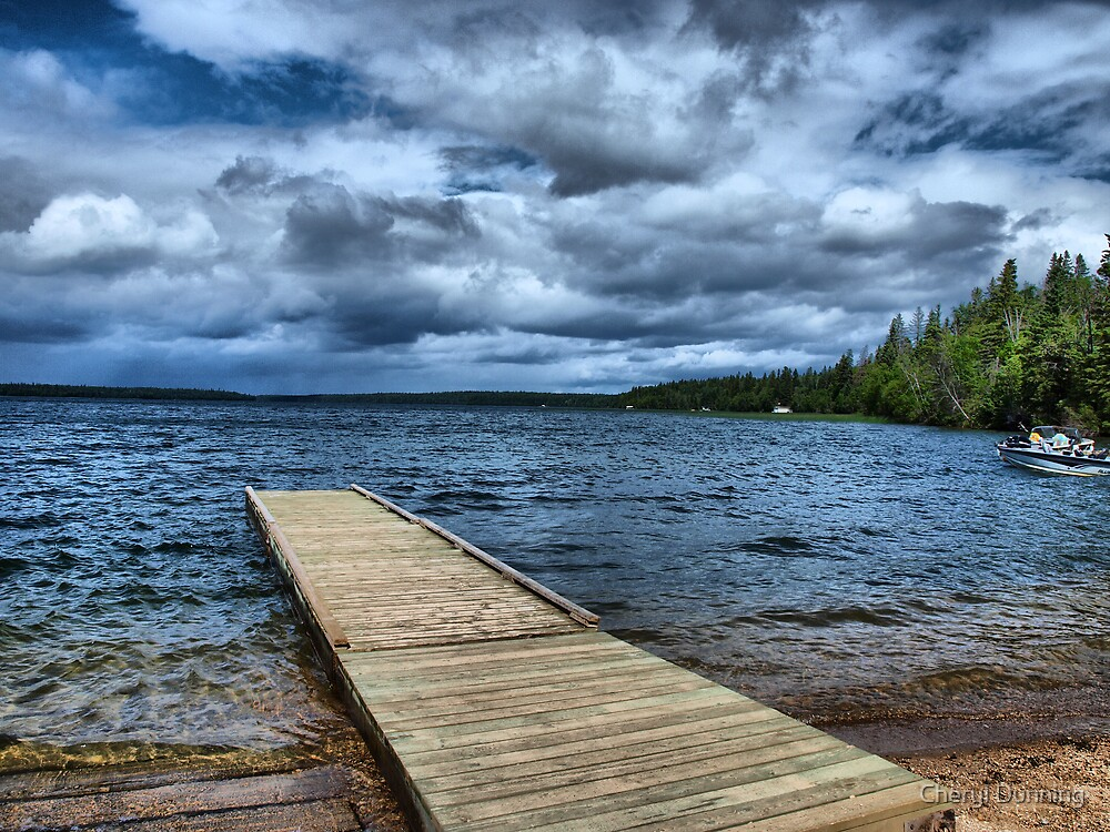 stormy view by Cheryl Dunning