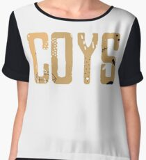 Come On You Spurs COYS Chiffon Top