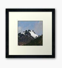 Mountaintop Geology Framed Print