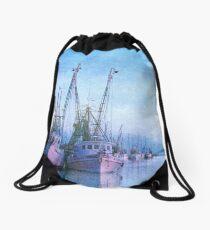 Dockside on the Darien ll Drawstring Bag