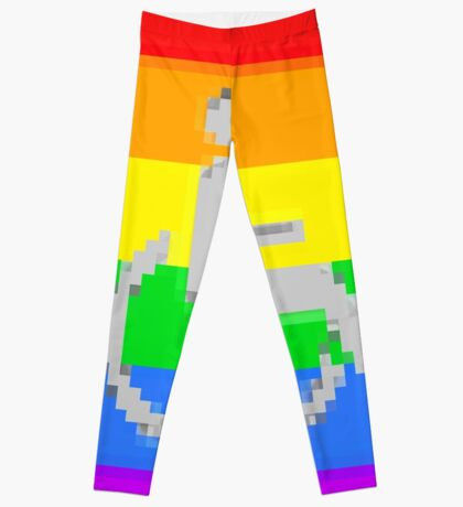 Handicap and singularity I by RootCat and marie b. Leggings