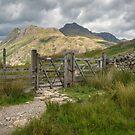 The Langdale Pikes by RamblingTog