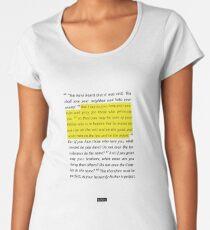 Matthew 5 Women's Premium T-Shirt