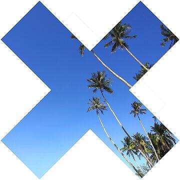 X Cross Palms by Chocodole