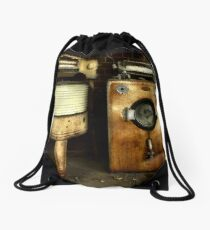 The odd couple ~ Living Museum, Junee NSW Drawstring Bag