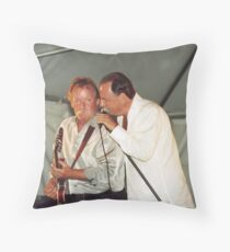 Donnie Walsh and Chuck Jackson, Downchild Blues Band Throw Pillow