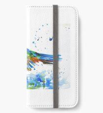 Kingfisher in Flight iPhone Wallet/Case/Skin
