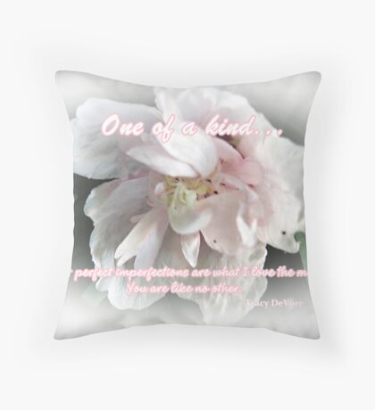 Perfect Imperfection Throw Pillow