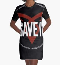 Shadowhunters - Save Shadowhunters Graphic T-Shirt Dress