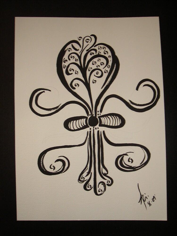 fleur de lys #2  by abigirl