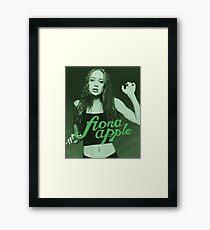 Fiona Apfel Gerahmtes Wandbild
