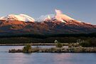 Mt Tongariro Sunset. by Michael Treloar