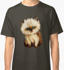Funny kitten watercolor Classic T-Shirt